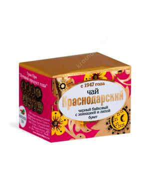 """Чай черный """"Краснодарский с 1947 г."""" с эхинацеей и липой, 50 г"""