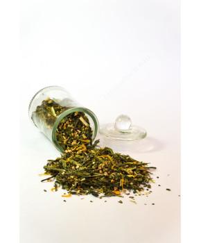 """Чай весовой зеленый """"Имбирный"""" 1 кг"""
