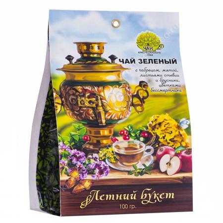 """Чай зеленый """"Летний букет"""", 100 граммов"""