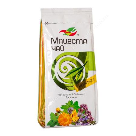 "Чай зеленый байховый ""Травяной"" 75гр"