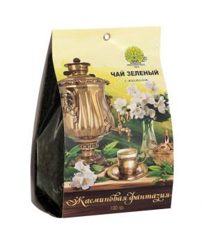 """Чай зеленый """"Жасминовая фантазия"""", 100 граммов"""