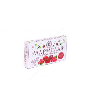 Мармелад фруктово-ягодный с МАЛИНОЙ, 190 г