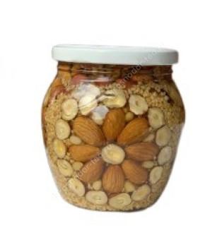 Мед с орехами Афродита, 620г