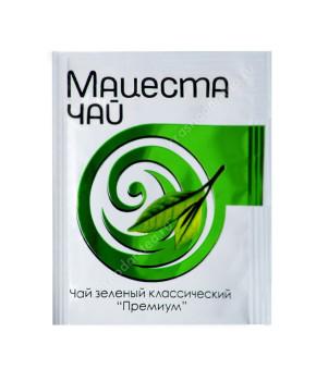 """Чай зеленый """"Мацеста"""" высшего сорта в пакетиках по 2 грамма"""