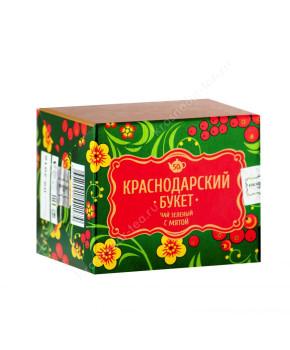 """Чай зеленый """"Краснодарский букет"""" с мятой, 50 г"""