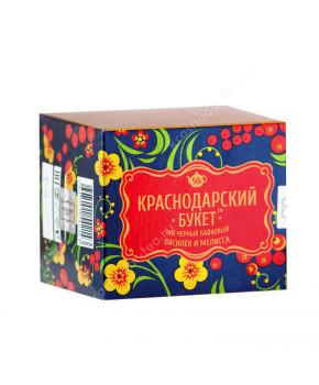 """Чай черный """"Краснодарский букет"""" с васильком и мелиссой, 50 г"""