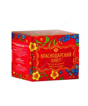 """Чай черный """"Краснодарский букет"""" с чабрецом и душицей, 50 г"""