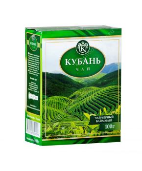 """Чай черный """"Кубань"""" крупнолистовой, 100 г"""