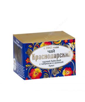 """Чай черный """"Краснодарский с 1947 г."""" с чабрецом и душицей, 50 г"""